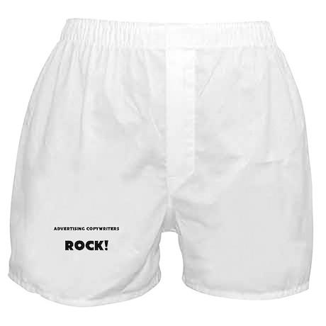 Advertising Copywriters ROCK Boxer Shorts