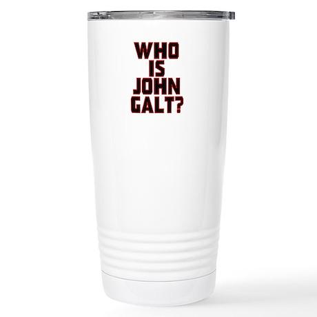 Who Is John Galt Stainless Steel Travel Mug