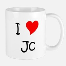 Cute I heart jc Mug