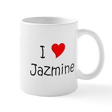 Cute I love jazmine Mug