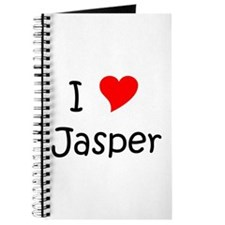 Cute I love jasper Journal