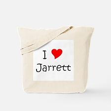 Funny Jarrett Tote Bag