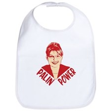 Palin Power (head shot) Bib