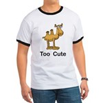 Too Cute Camel Ringer T