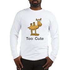 Too Cute Camel Long Sleeve T-Shirt