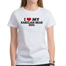 I Love My Karelian Bear Dog Tee