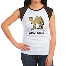 Little Camel Women's Cap Sleeve T-Shirt