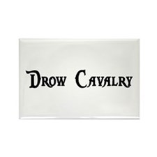 Drow Cavalry Rectangle Magnet