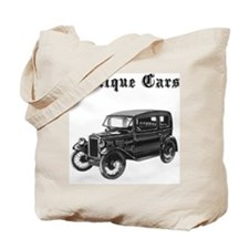 Antique Cars Tote Bag