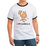 I Love Camels Ringer T