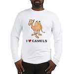 I Love Camels Long Sleeve T-Shirt