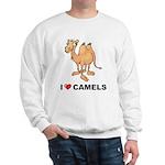 I Love Camels Sweatshirt