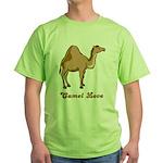 Camel Love Green T-Shirt