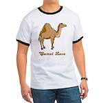 Camel Love Ringer T