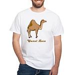 Camel Love White T-Shirt