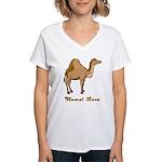 Camel Love Women's V-Neck T-Shirt