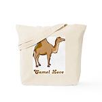 Camel Love Tote Bag