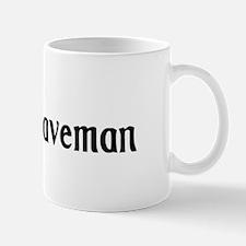 Drow Caveman Mug
