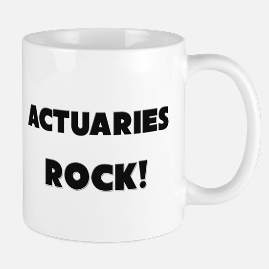 Actuaries ROCK Mug