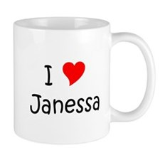 Cute I heart janessa Mug
