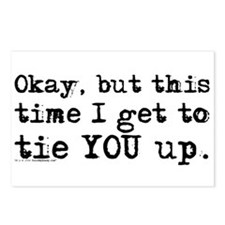 Tie You Up Postcards (Package of 8)