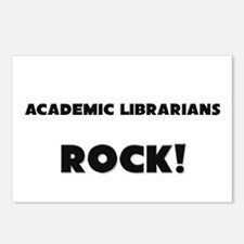 Academic Librarians ROCK Postcards (Package of 8)