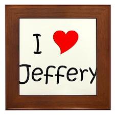 Funny Jeffery Framed Tile