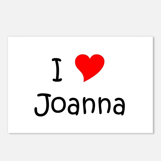 Unique Joanna Postcards (Package of 8)
