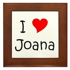 Joana Framed Tile