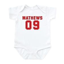 MATHEWS 09 Infant Bodysuit