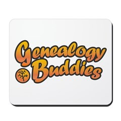 Genealogy Buddies Mousepad