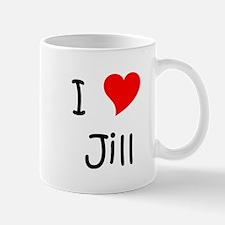 Cute I love jill Mug