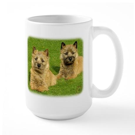 Cairn Terrier puppies 9W048D-035 Large Mug