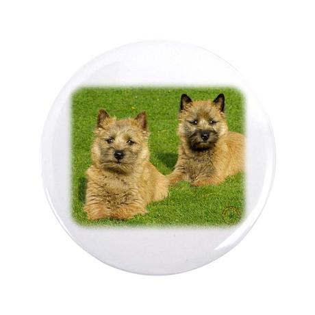 """Cairn Terrier puppies 9W048D-035 3.5"""" Button"""