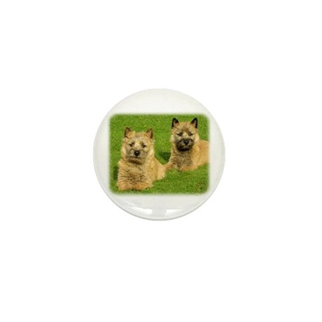 Cairn Terrier puppies 9W048D-035 Mini Button (10 p