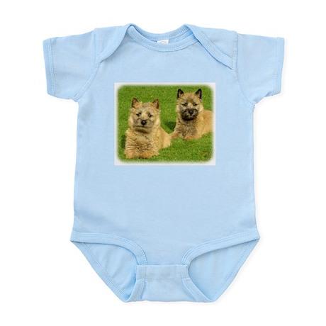 Cairn Terrier puppies 9W048D-035 Infant Bodysuit