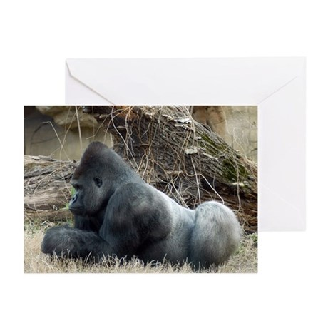 Gorilla 005 Greeting Cards (Pk of 10)