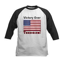 Victory Over Terrorism USA Flag Tee