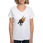 Wolf Women's V-Neck T-Shirt