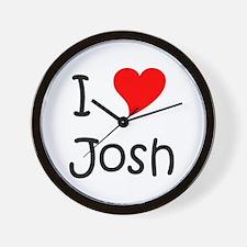 Unique I love josh hutcherson Wall Clock