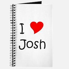 Unique I love josh hutcherson Journal