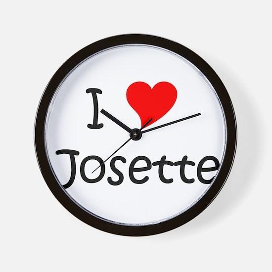 Unique Josette Wall Clock