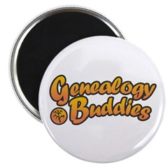Genealogy Buddies Magnet