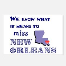 I Miss New Orleans Postcards (Package of 8)