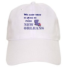 I Miss New Orleans Baseball Cap