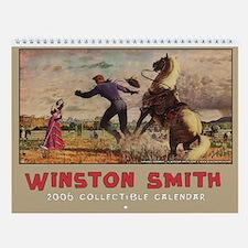 Cowboy Serenade Wall Calendar