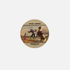 Cowboy Serenade Mini Button