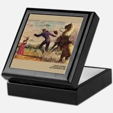 Cowboy Serenade Keepsake Box