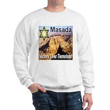 Masada Victory Over Terrorism Sweatshirt