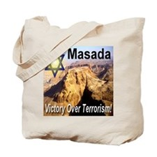 Masada Victory Over Terrorism Tote Bag